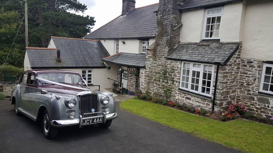 Bentley R Type - North  Devon Wedding