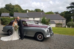 Bentley R Type - North  Devon Wedding