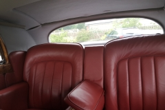 luxury seating in rear cabin